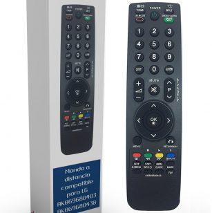 Mando de sustitución para televisores LG AKB69680403