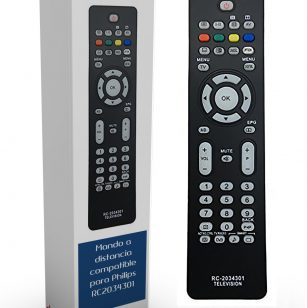 Mando de sustitución para televisores Philips RC2034301/01