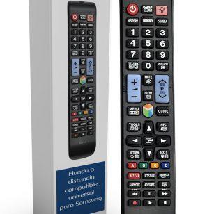 Mando Universal para televisores Samsung Smart 3D. Compatible con más de 340 Modelos de mandos Samsung