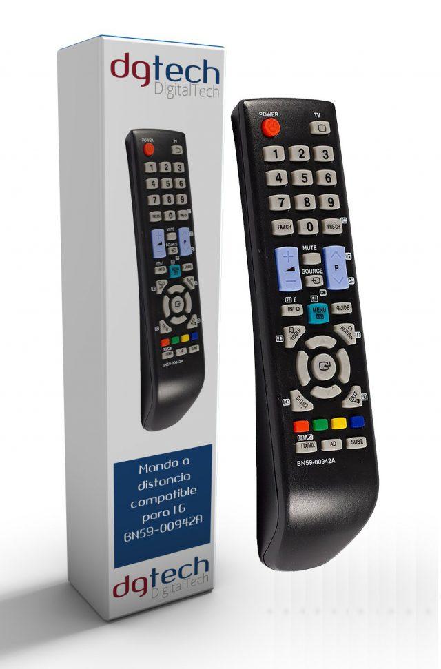 Mando de sustitución para televisores Samsung BN59-00942A